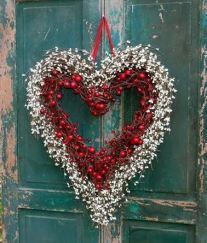 Berry Wreath Door