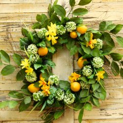 Lemon Wreath Ever Blooming Originals